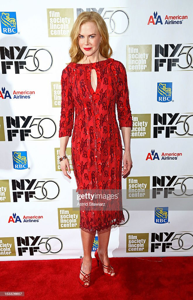 Actress <a gi-track='captionPersonalityLinkClicked' href=/galleries/search?phrase=Nicole+Kidman&family=editorial&specificpeople=156404 ng-click='$event.stopPropagation()'>Nicole Kidman</a> attends the <a gi-track='captionPersonalityLinkClicked' href=/galleries/search?phrase=Nicole+Kidman&family=editorial&specificpeople=156404 ng-click='$event.stopPropagation()'>Nicole Kidman</a> Gala Tribute during the 50th annual New York Film Festival at Lincoln Center on October 3, 2012 in New York City.