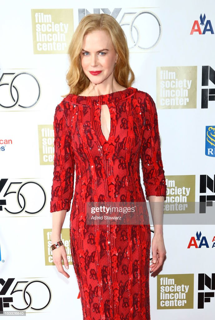 Actress Nicole Kidman attends the Nicole Kidman Gala Tribute during the 50th annual New York Film Festival at Lincoln Center on October 3, 2012 in New York City.