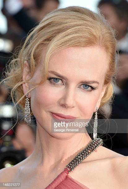 Actress Nicole Kidman attends 'The Paperboy' Premiere during 65th Annual Cannes Film Festival at Palais des Festivals on May 24 2012 in Cannes France