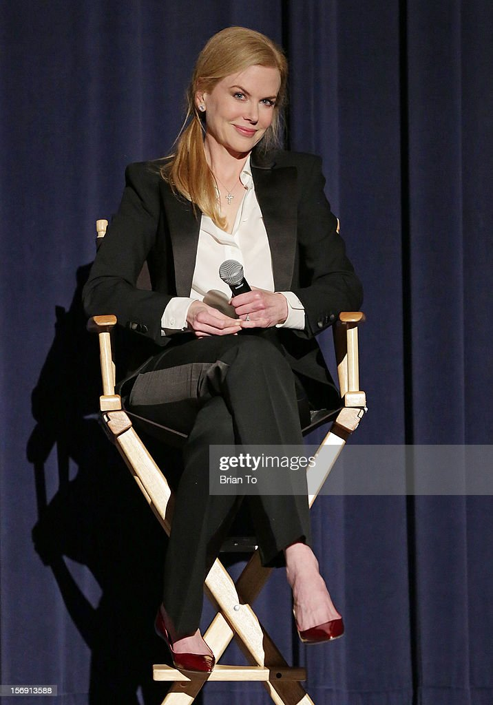 Actress Nicole Kidman attends 'The Paperboy' Q&A with Nicole Kidman at Harmony Gold Theatre on November 24, 2012 in Los Angeles, California.