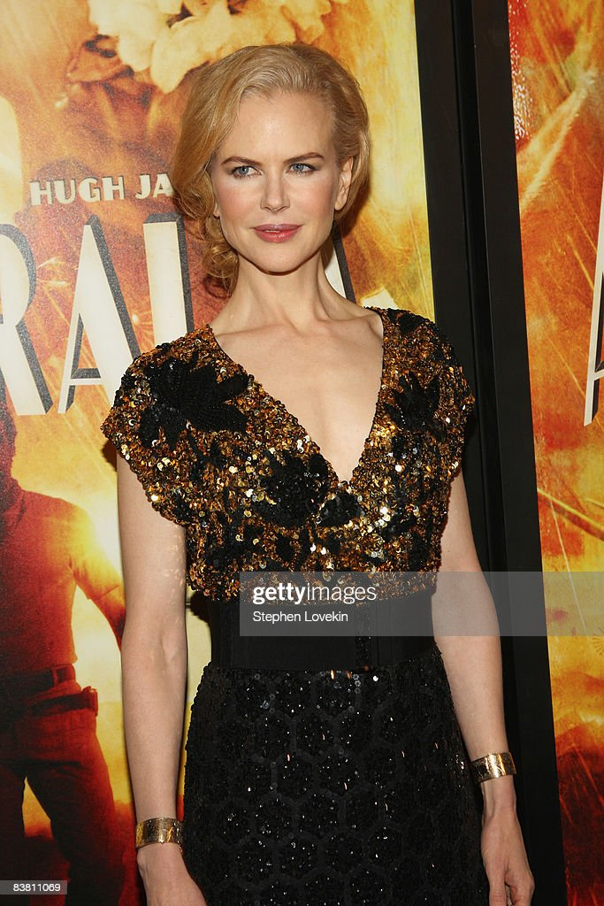 Actress Nicole Kidman attends the premiere of 'Australia' at the Ziegfeld Theater on November 24, 2008 in New York City.