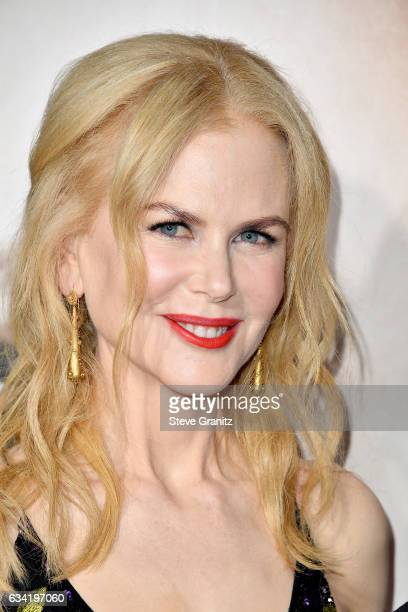 Actress Nicole Kidman attends the premiere of HBO's 'Big Little Lies' at TCL Chinese Theatre on February 7 2017 in Hollywood California