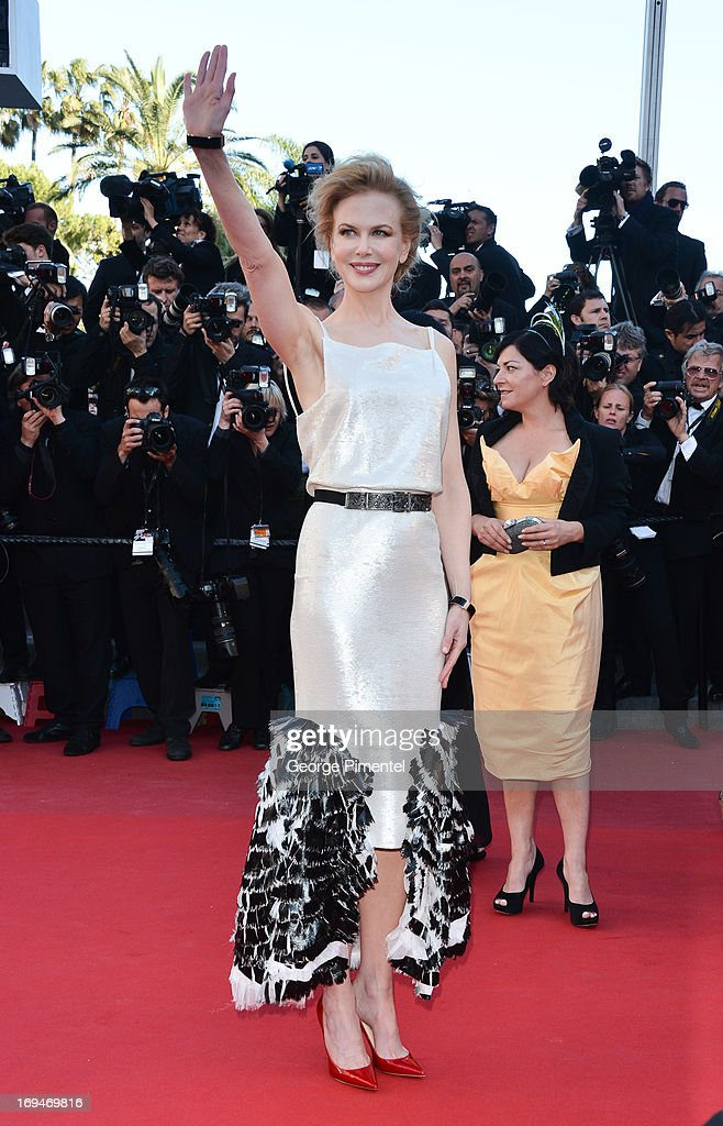 Actress Nicole Kidman attends the Premiere of 'La Venus A La Fourrure' at The 66th Annual Cannes Film Festival on May 25, 2013 in Cannes, France.