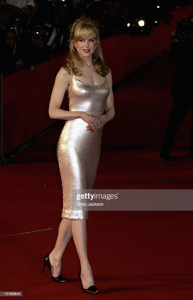 Actress Nicole Kidman attends the premiere of the movie 'Fur An Imaginary Portrait of Diane Arbus' on the first day of Rome Film Festival on October...