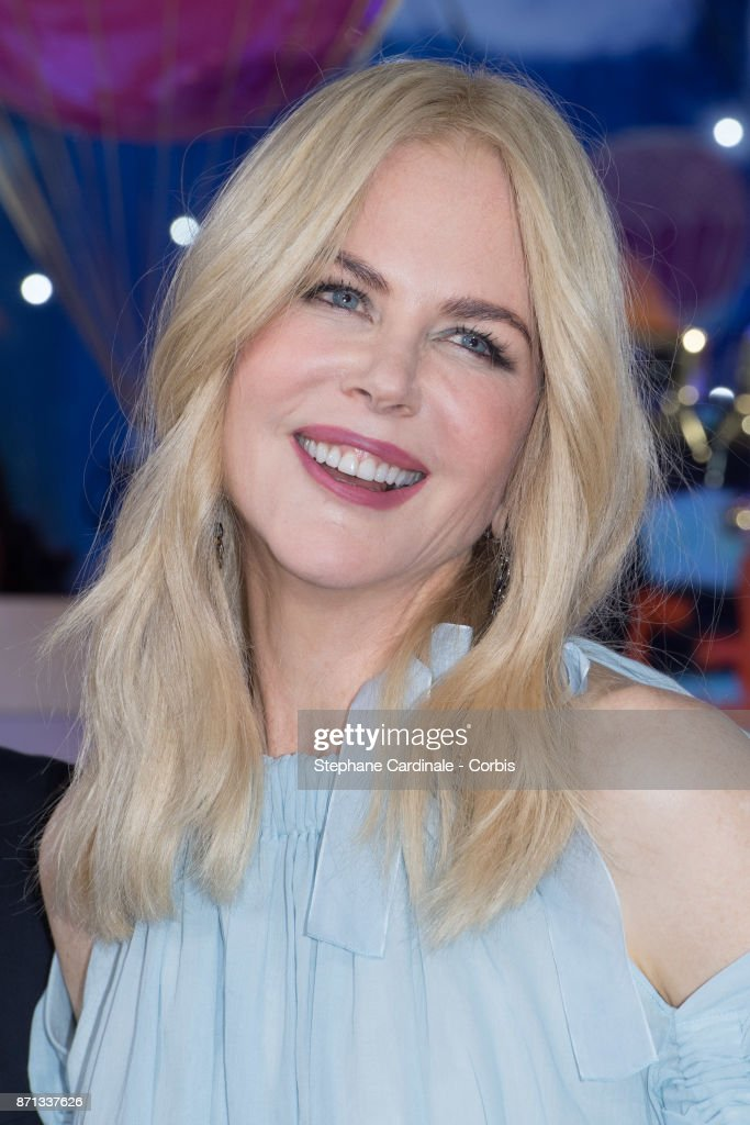 Actress Nicole Kidman attends the 'Printemps' Christmas Decorations Inauguration at Le Printemps on November 7, 2017 in Paris, France.