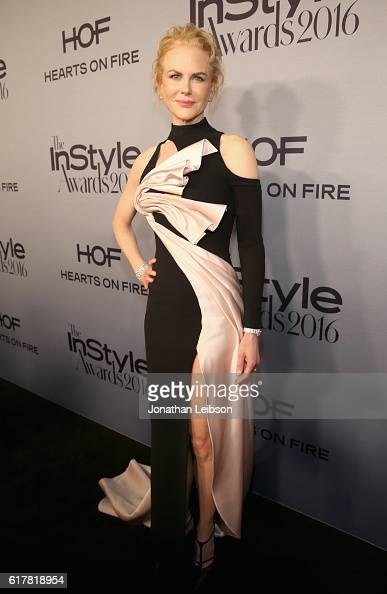 Actress Nicole Kidman attends the Second Annual 'InStyle Awards' presented by InStyle at Getty Center on October 24 2016 in Los Angeles California