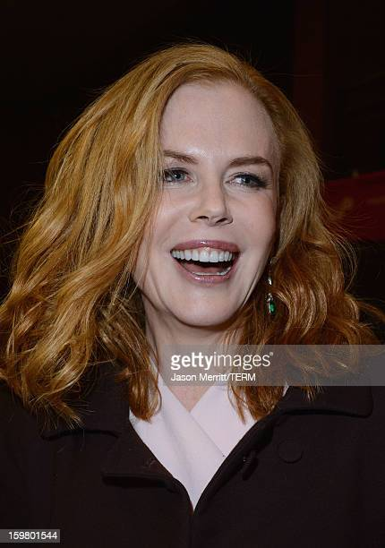 Actress Nicole Kidman attends the 'Stoker' premiere at Eccles Center Theatre during the 2013 Sundance Film Festival on January 20 2013 in Park City...