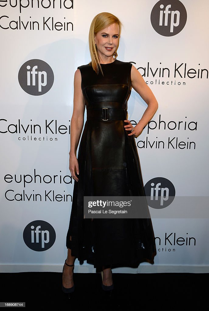 Actress Nicole Kidman attends the The IFP Calvin Klein Collection Euphoria Calvin Klein Celebrate Women In Film At The 66th Cannes Film Festival on...