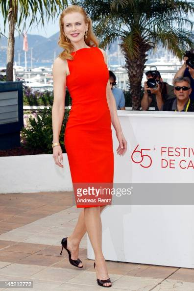 Actress Nicole Kidman attends the 'The Paperboy' photocall during the 65th Annual Cannes Film Festival at Palais des Festivals on May 24 2012 in...