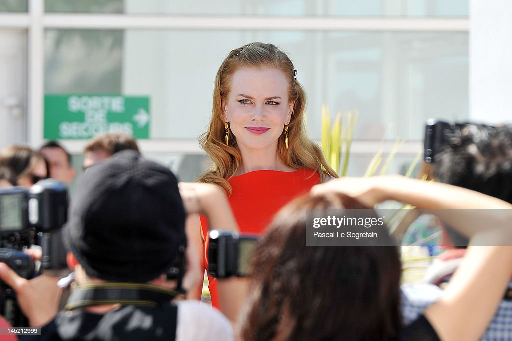 Actress <a gi-track='captionPersonalityLinkClicked' href=/galleries/search?phrase=Nicole+Kidman&family=editorial&specificpeople=156404 ng-click='$event.stopPropagation()'>Nicole Kidman</a> attends the 'The Paperboy' photocall during the 65th Annual Cannes Film Festival at Palais des Festivals on May 24, 2012 in Cannes, France.