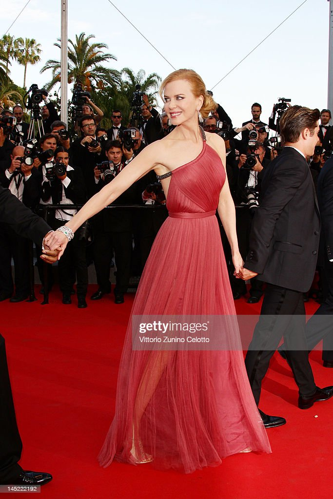 Actress <a gi-track='captionPersonalityLinkClicked' href=/galleries/search?phrase=Nicole+Kidman&family=editorial&specificpeople=156404 ng-click='$event.stopPropagation()'>Nicole Kidman</a> attends the 'The Paperboy' premiere during the 65th Annual Cannes Film Festival at Palais des Festivals on May 24, 2012 in Cannes, France.