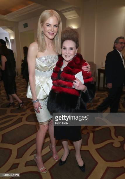 Actress Nicole Kidman attends The Weinstein Company's PreOscar Dinner in partnership with Bvlgari and Grey Goose at Montage Beverly Hills on February...