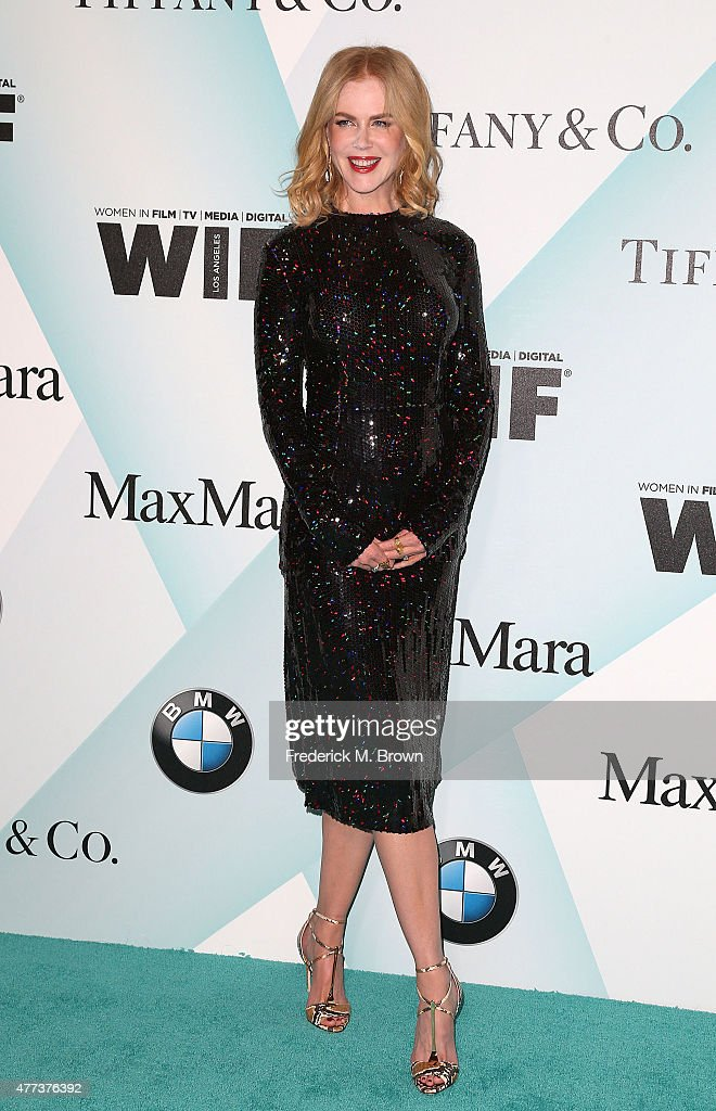 Actress <a gi-track='captionPersonalityLinkClicked' href=/galleries/search?phrase=Nicole+Kidman&family=editorial&specificpeople=156404 ng-click='$event.stopPropagation()'>Nicole Kidman</a> attends the Women in Film 2015 Crystal + Lucy Awards at the Hyatt Regency Century Plaza Hotel on June 16, 2015 in Los Angeles, California.