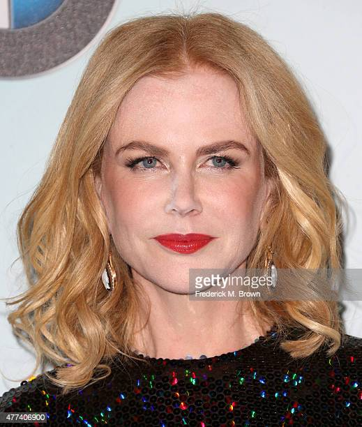 Actress Nicole Kidman attends the Women in Film 2015 Crystal Lucy Awards at the Hyatt Regency Century Plaza Hotel on June 16 2015 in Los Angeles...