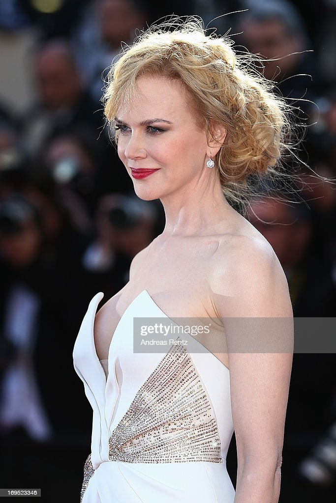 Actress Nicole Kidman attends the 'Zulu' Premiere and Closing Ceremony during the 66th Annual Cannes Film Festival at the Palais des Festivals on May 26, 2013 in Cannes, France.
