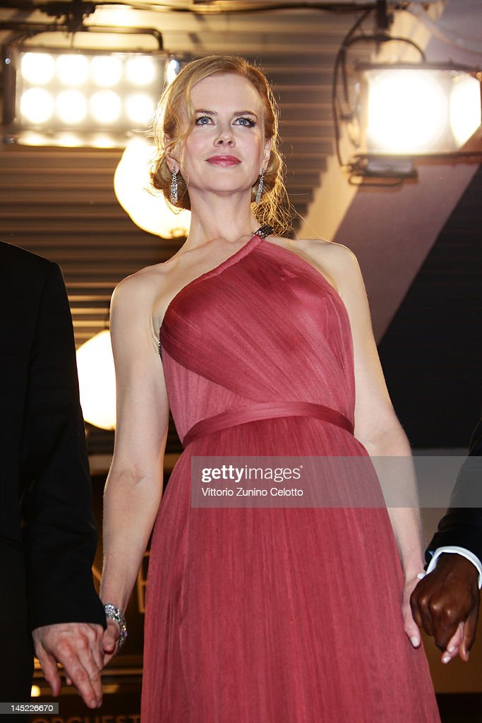 Actress <a gi-track='captionPersonalityLinkClicked' href=/galleries/search?phrase=Nicole+Kidman&family=editorial&specificpeople=156404 ng-click='$event.stopPropagation()'>Nicole Kidman</a> departs the 'The Paperboy' premiere during the 65th Annual Cannes Film Festival at Palais des Festivals on May 24, 2012 in Cannes, France.