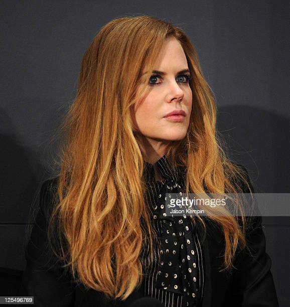 Actress Nicole Kidman discuss's the new film 'Rabbit Hole' at the Apple Store Soho on December 3 2010 in New York City