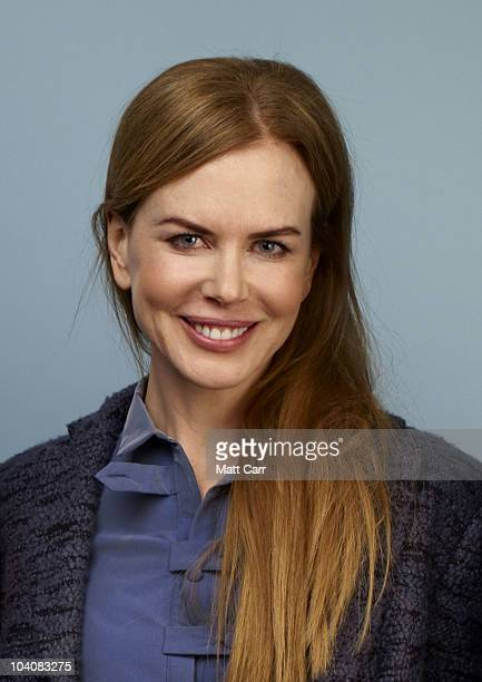 Actress Nicole Kidman from 'Rabbit Hole' poses for a portrait during the 2010 Toronto International Film Festival in Guess Portrait Studio at Hyatt...