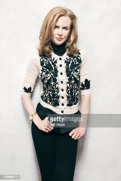 Actress Nicole Kidman is photographed at the Sundance Film Festival for Self Assignment on January 21 2013 in Park City Utah