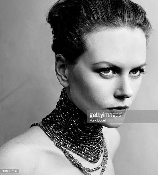 Actress Nicole Kidman is photographed for Harpers Bazaar on January 1 1999 in Los Angeles California