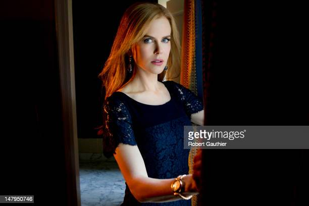Actress Nicole Kidman is photographed for Los Angeles Times on January 13 2012 in Pasadena California PUBLISHED IMAGE CREDIT MUST READ Robert...