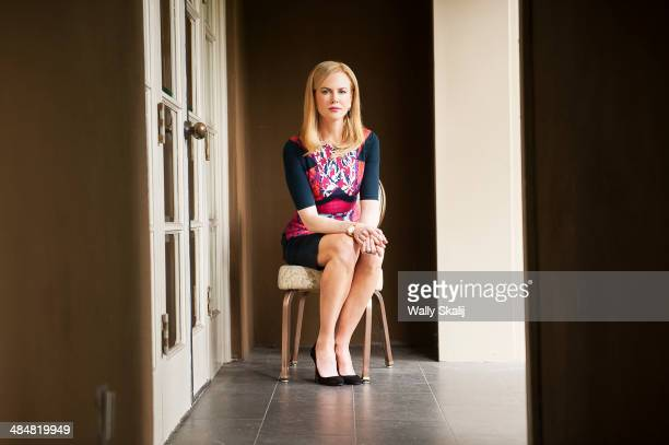 Actress Nicole Kidman is photographed for Los Angeles Times on March 25 2014 in Beverly Hills California PUBLISHED IMAGE CREDIT MUST READ Wally...