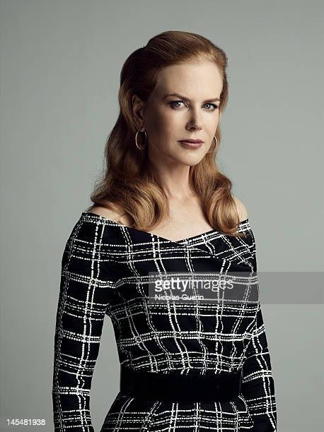 Actress Nicole Kidman is photographed for Self Assignment on May 25 2012 in Cannes France