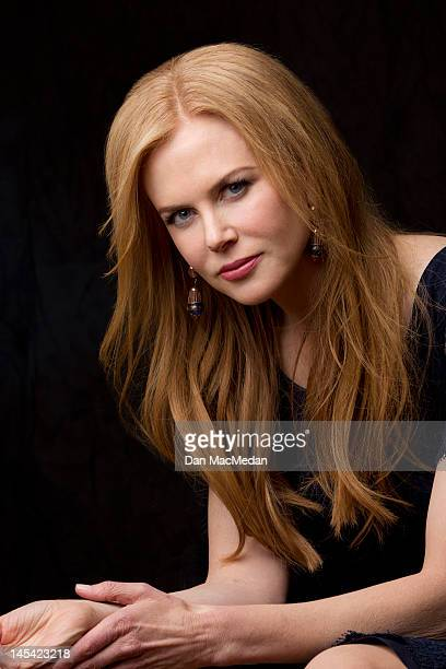 Actress Nicole Kidman is photographed for USA Today on January 13 2012 in Pasadena California
