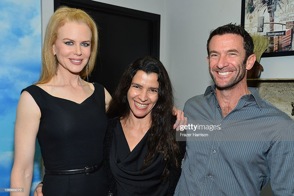 Actress Nicole Kidman, Paloma Bilson and David Bilson attend Australians In Film Screening of 'The Paperboy' at Harmony Gold Theatre on November 25, 2012 in Los Angeles, California.