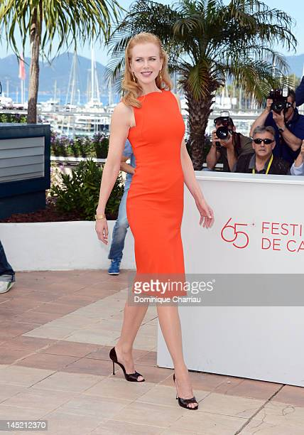 Actress Nicole Kidman poses at the 'The Paperboy' photocall during the 65th Annual Cannes Film Festival at Palais des Festivals on May 24 2012 in...