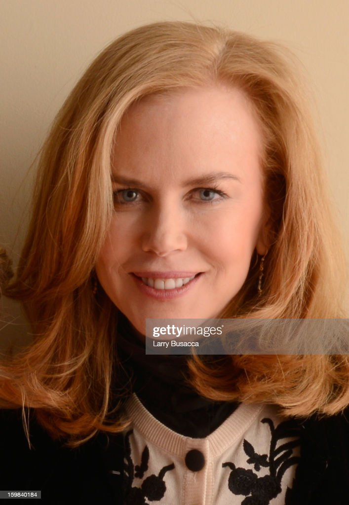 Actress <a gi-track='captionPersonalityLinkClicked' href=/galleries/search?phrase=Nicole+Kidman&family=editorial&specificpeople=156404 ng-click='$event.stopPropagation()'>Nicole Kidman</a> poses for a portrait during the 2013 Sundance Film Festival at the Getty Images Portrait Studio at Village at the Lift on January 21, 2013 in Park City, Utah.