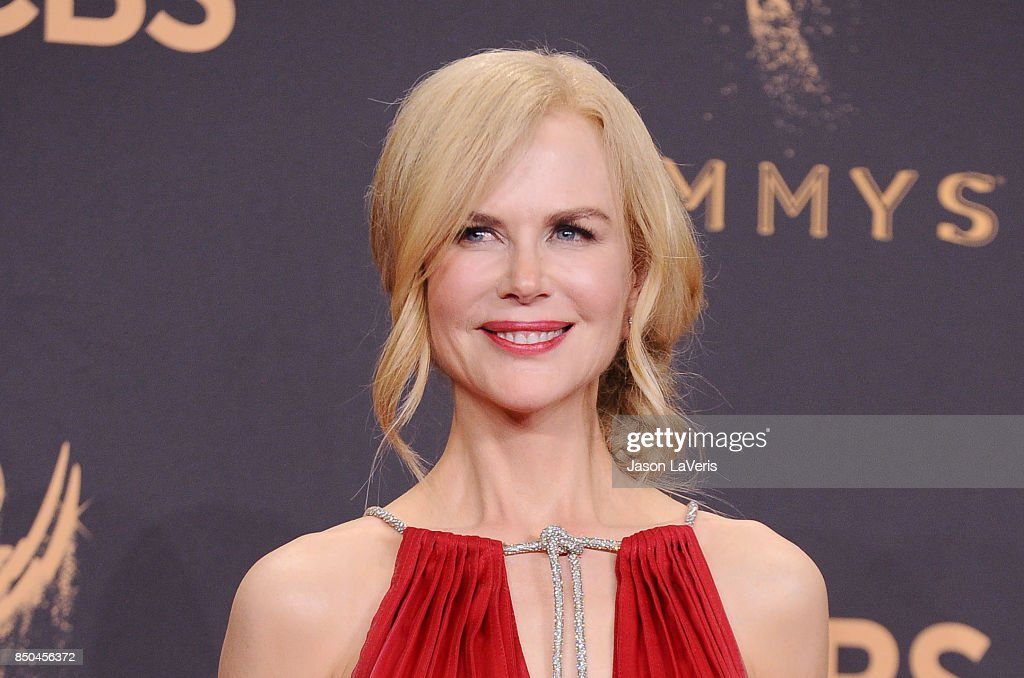 Actress Nicole Kidman poses in the press room at the 69th annual Primetime Emmy Awards at Microsoft Theater on September 17, 2017 in Los Angeles, California.