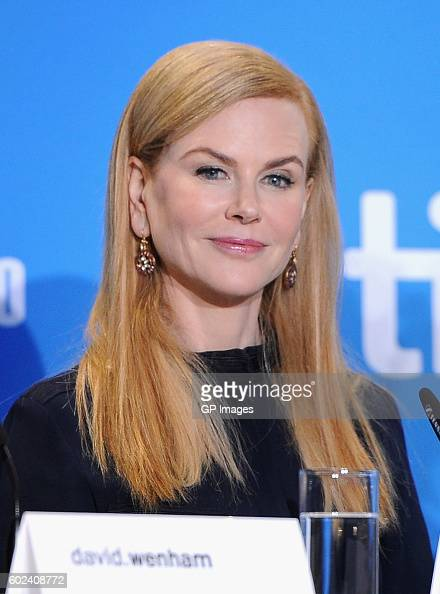 Actress Nicole Kidman speaks onstage at the 'Lion' Press Conference during 2016 Toronto International Film Festival at TIFF Bell Lightbox on...