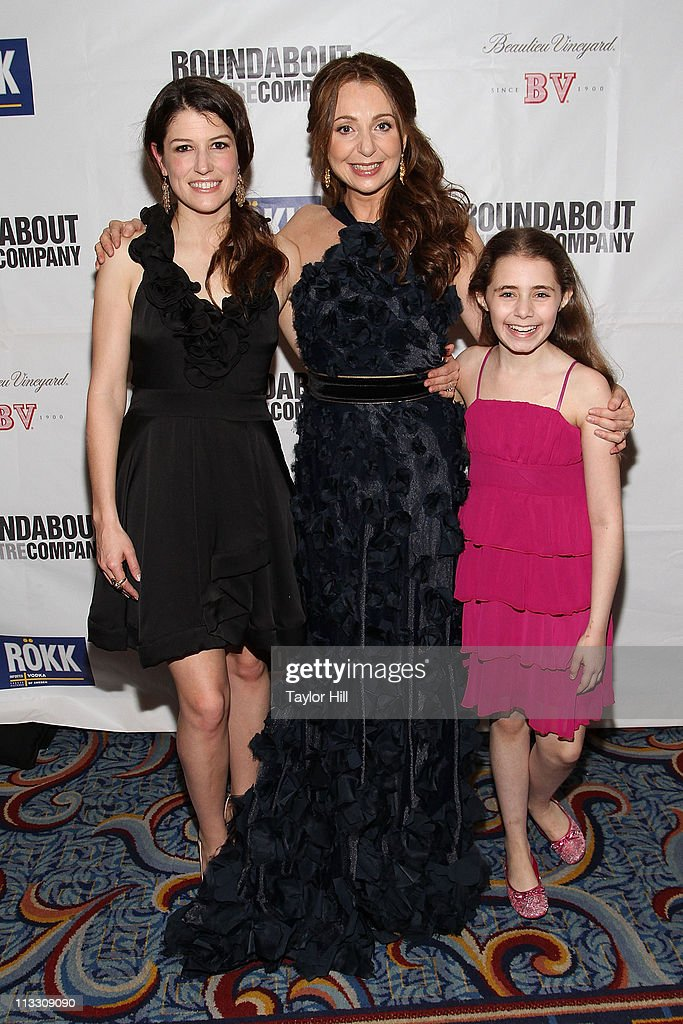 Actress Nicole Parker, actress Donna Murphy, and actress Rachel Resheff attend the after party for the Broadway opening night of 'The People in the Picture' at Marriot Marquis on April 28, 2011 in New York City.