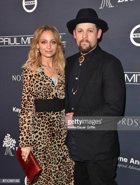 Actress Nicole Richie and musician Joel Madden attend the 2017 Baby2Baby Gala at 3LABS on November 11 2017 in Culver City California