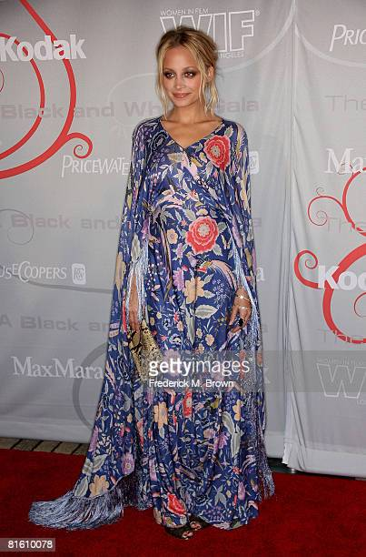 Actress Nicole Richie arrives at the Women In Film's 2008 Crystal Lucy Awards held at the Beverly Hilton on June 17 2008 in Beverly Hills California