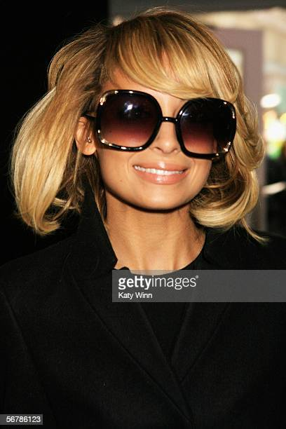 Actress Nicole Richie attends Olympus Fashion Week Fall 2006 at Bryant Park February 08 2006 in New York City