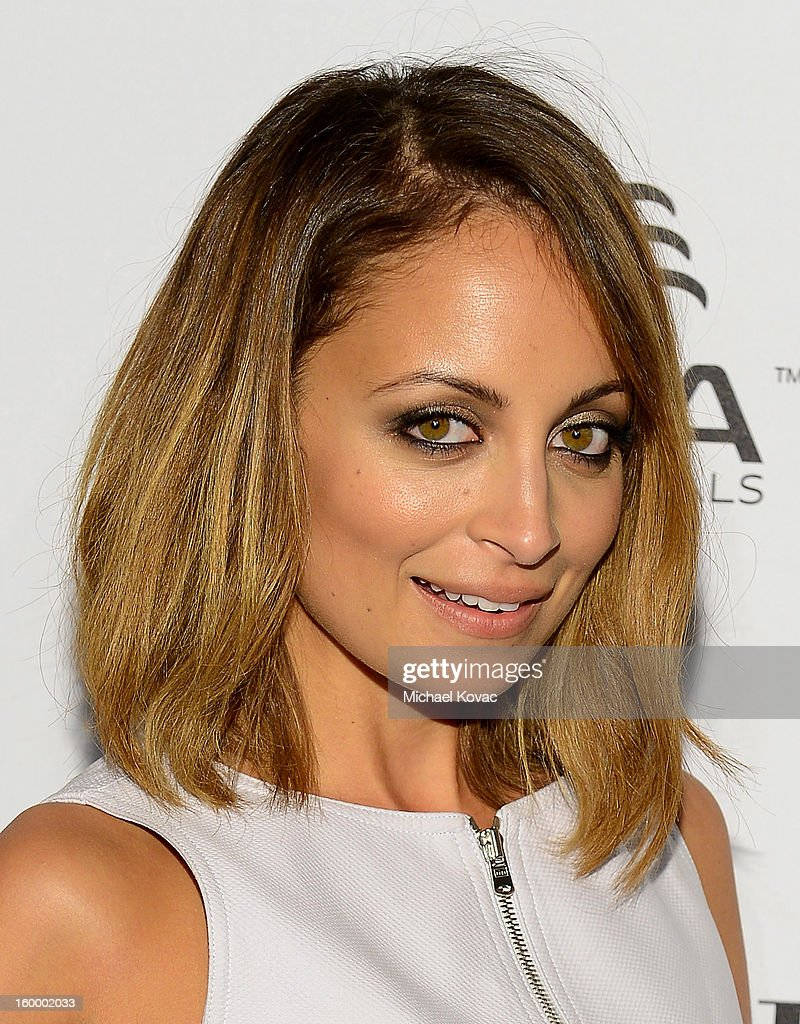 Actress <a gi-track='captionPersonalityLinkClicked' href=/galleries/search?phrase=Nicole+Richie&family=editorial&specificpeople=201646 ng-click='$event.stopPropagation()'>Nicole Richie</a> attends the ELLE's Women in Television Celebration at Soho House on January 24, 2013 in West Hollywood, California.