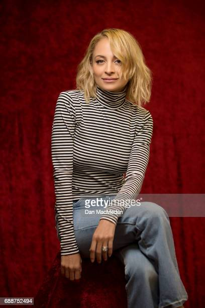 Actress Nicole Richie is photographed for USA Today on April 10 2017 in Century City California