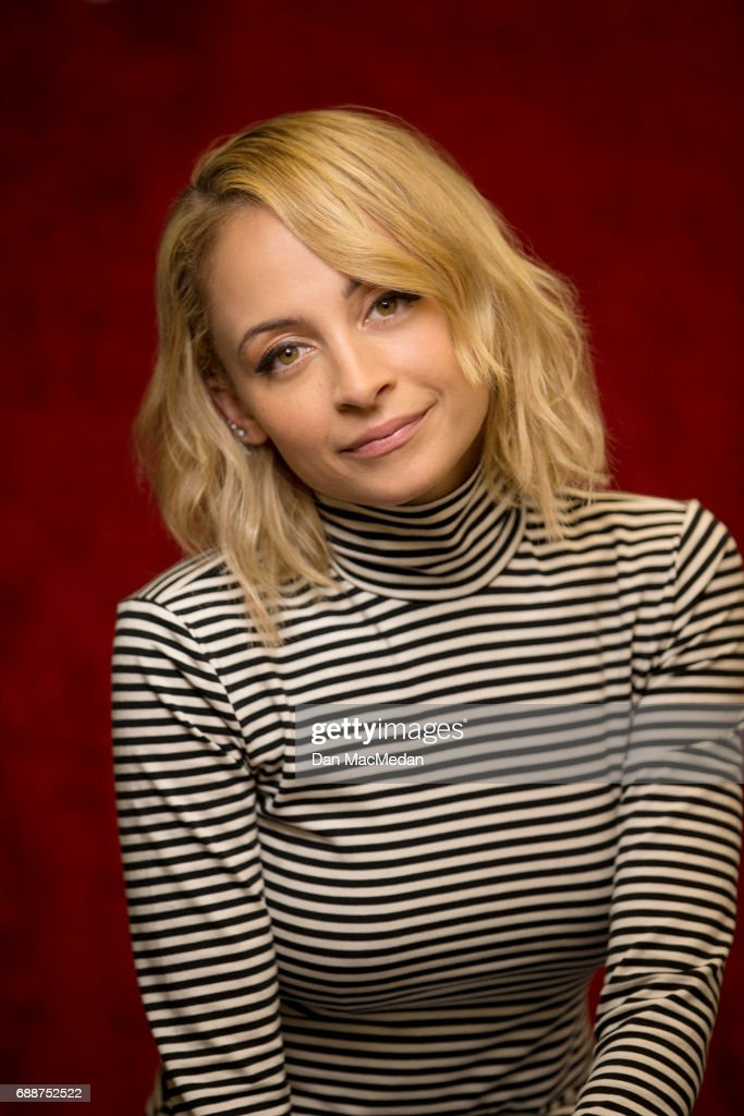 Actress Nicole Richie is photographed for USA Today on April 10, 2017 in Century City, California.