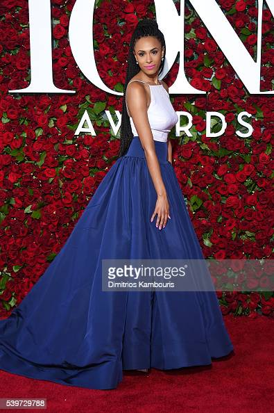 Actress Nicolette Robinson attends the 70th Annual Tony Awards at The Beacon Theatre on June 12 2016 in New York City