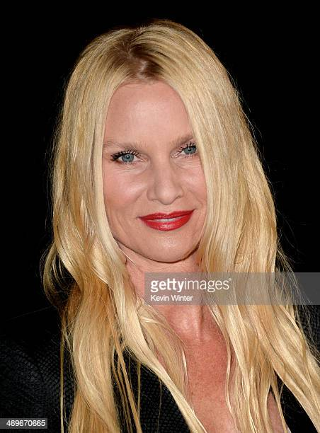 Actress Nicollette Sheridan arrives at the Annual MakeUp Artists and Hair Stylists Guild Awards at the Paramount Theatre on February 15 2014 in Los...