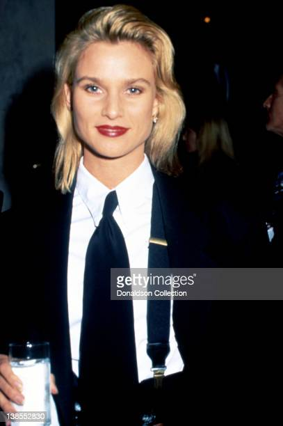 Actress Nicollette Sheridan attends an event in 1993 in Los Angeles California
