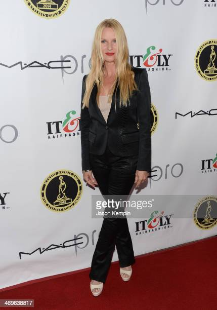 Actress Nicollette Sheridan attends The Annual MakeUp Artists And Hair Stylists Guild Awards at Paramount Theater on the Paramount Studios lot on...