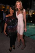 Actress Niecy Nash and ESPN host Erin Andrews attend the grand opening of Drai's Hollywood on March 17 2010 in Hollywood California