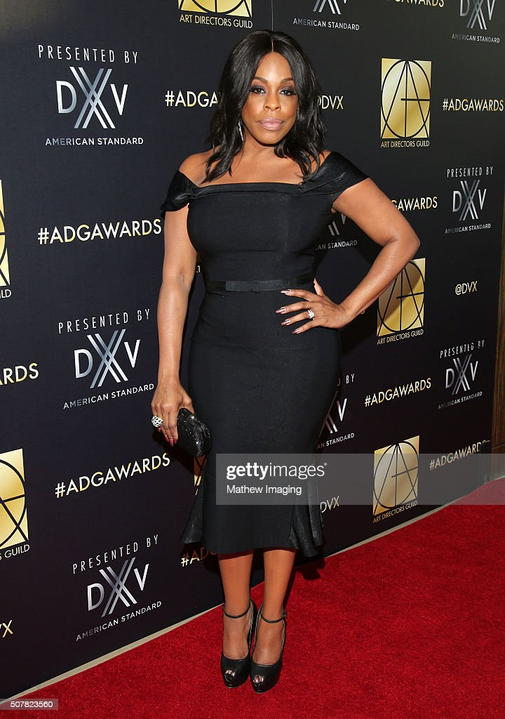 Actress Niecy Nash arrives at the 20th Annual Art Directors Guild Excellence In Production Design Awards at The Beverly Hilton Hotel on January 31...
