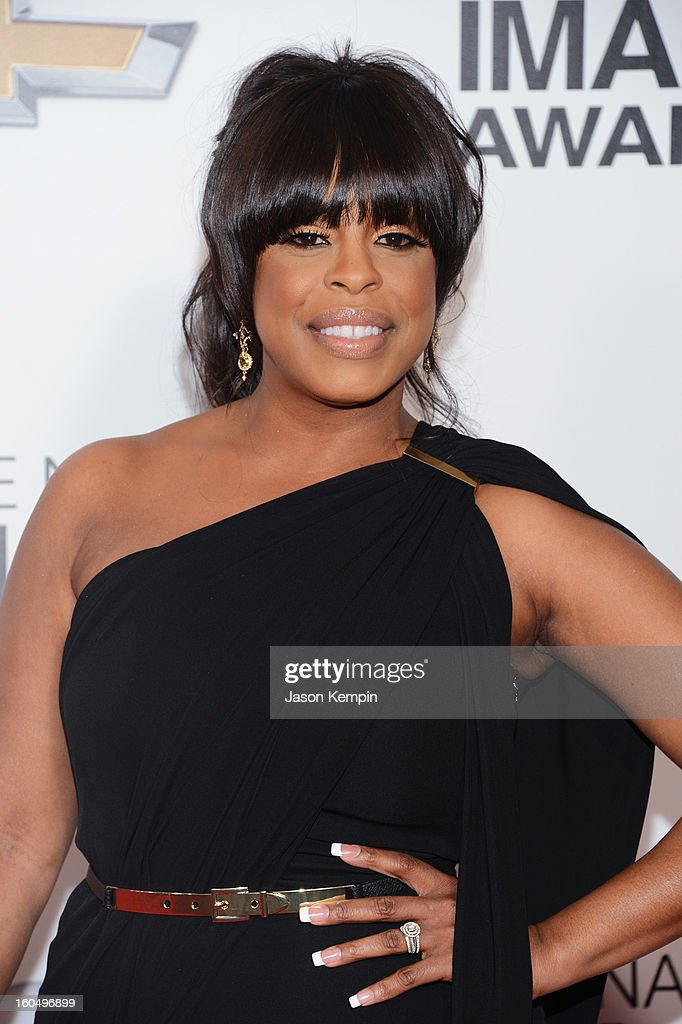 Actress Niecy Nash arrives at the 44th NAACP Image Awards held at The Shrine Auditorium on February 1, 2013 in Los Angeles, California.