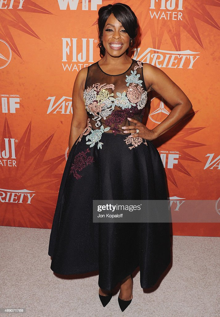Actress Niecy Nash arrives at the Variety And Women In Film Annual Pre-Emmy Celebration at Gracias Madre on September 18, 2015 in West Hollywood, California.