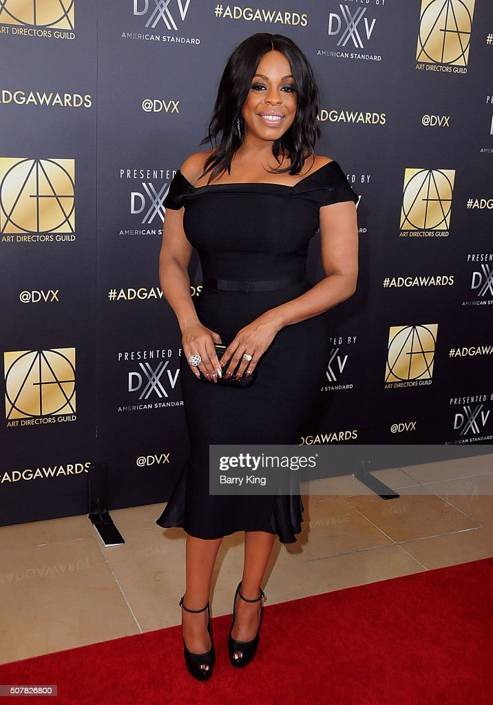 Actress Niecy Nash attends Art Directors Guild 20th Annual Excellence in Production Awards at The Beverly Hilton Hotel on January 31 2016 in Beverly...