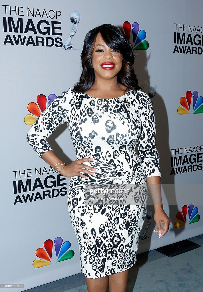 Actress Niecy Nash attends the 44th NAACP Image Awards Nominations Announcement Press Conference at The Paley Center for Media on December 11, 2012 in Beverly Hills, California.